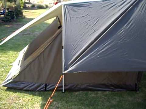 Oztent RV5 with fly & Oztent RV5 with fly - YouTube