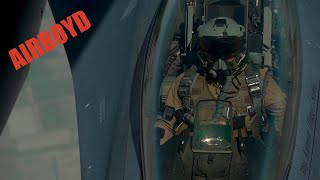 Iraq Air Force F-16 Aerial Refueling