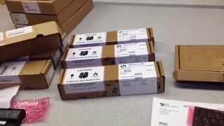 HP Notebook Ersatzteile Original verpackt im Wareneingang der IPC-Computer