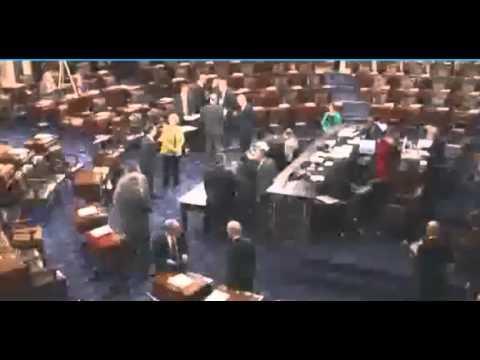 Senate confirms Hagel for Defence Secretary.