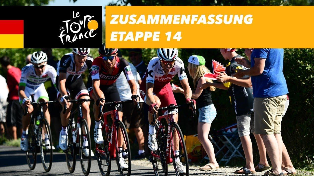 Zusammenfassung - Etappe 14 - Tour de France 2017