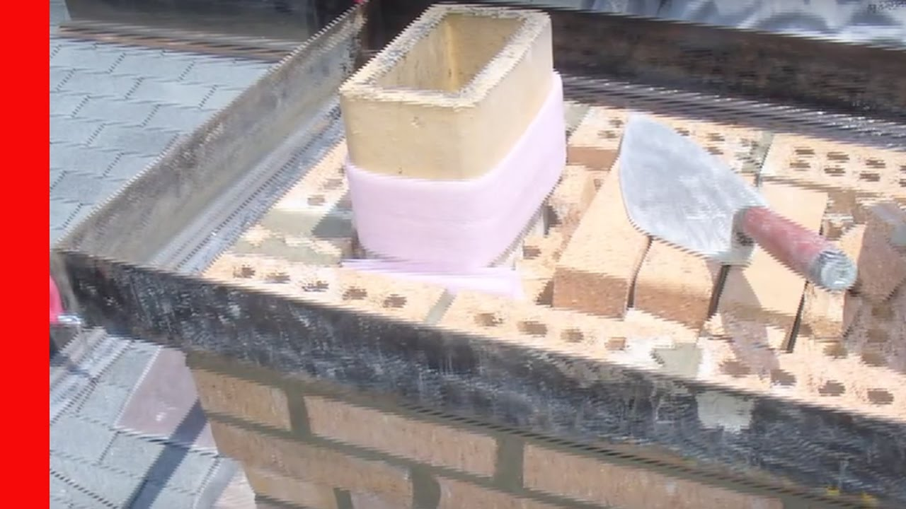 Repairing A Chimney Crown Youtube