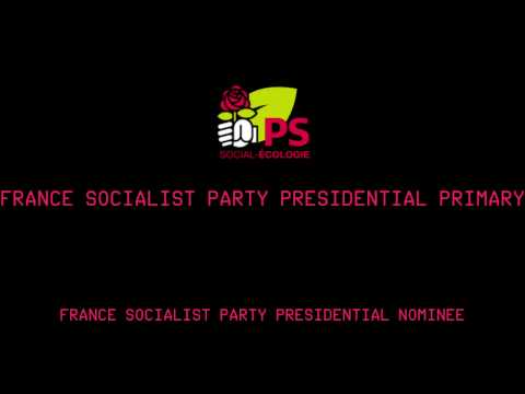 Coverage Of The France Socialist Party Presidential Primary - Round 1 - #Election2017