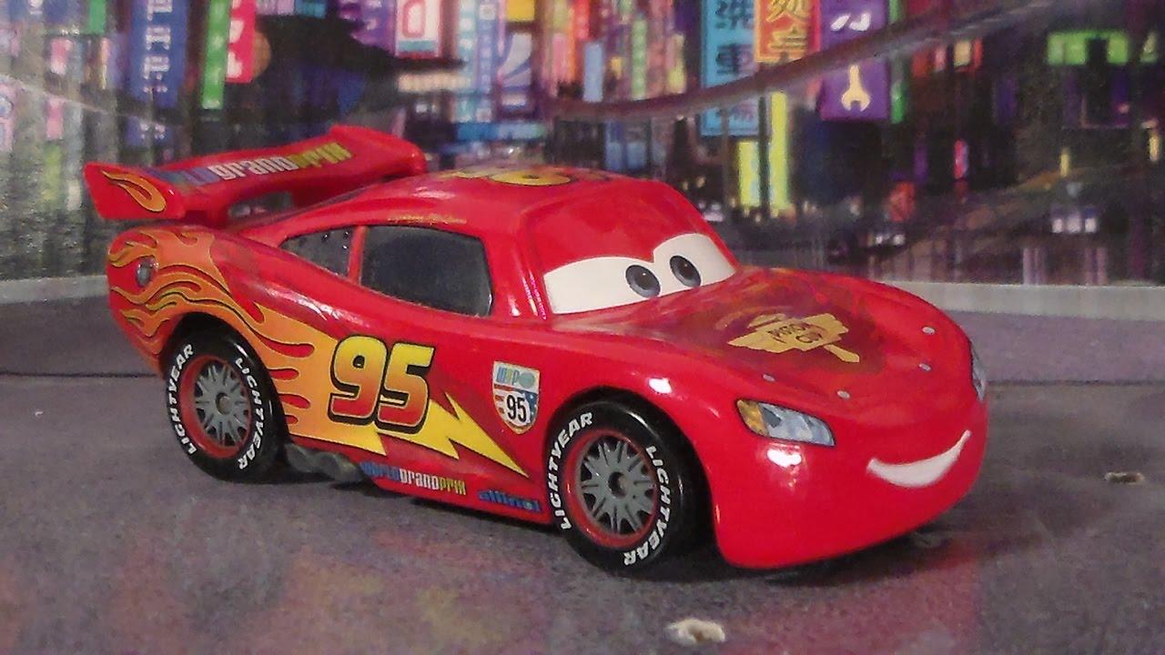 mcqueen lightning cars wgp prix grand disney mattel pixar diecast