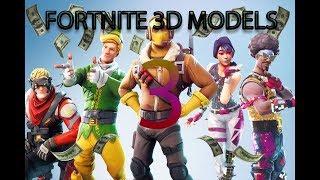 FORTNITE 3D MODELS 3