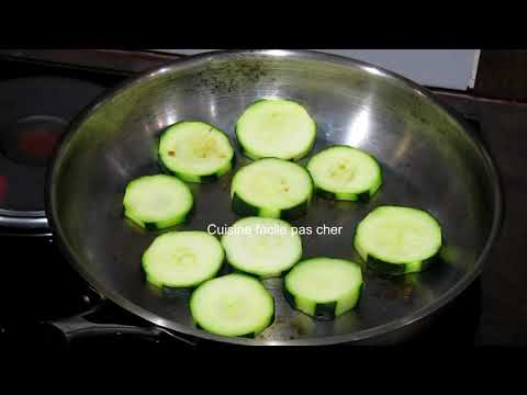 Comment Cuisiner Des Courgettes Facile Youtube