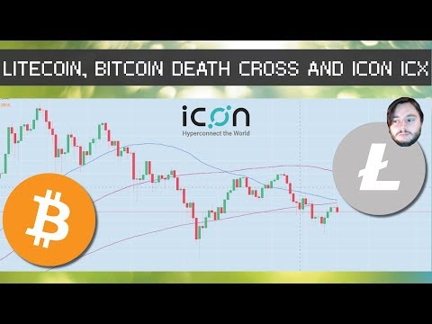 Bitcoin Death Cross, Litecoin and Icon ICX 30% Increase