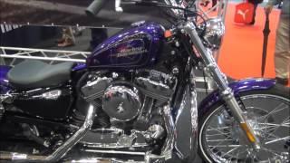 2013大阪モーターショー HARLEY-DAVIDSONブース オートバイ インテック...