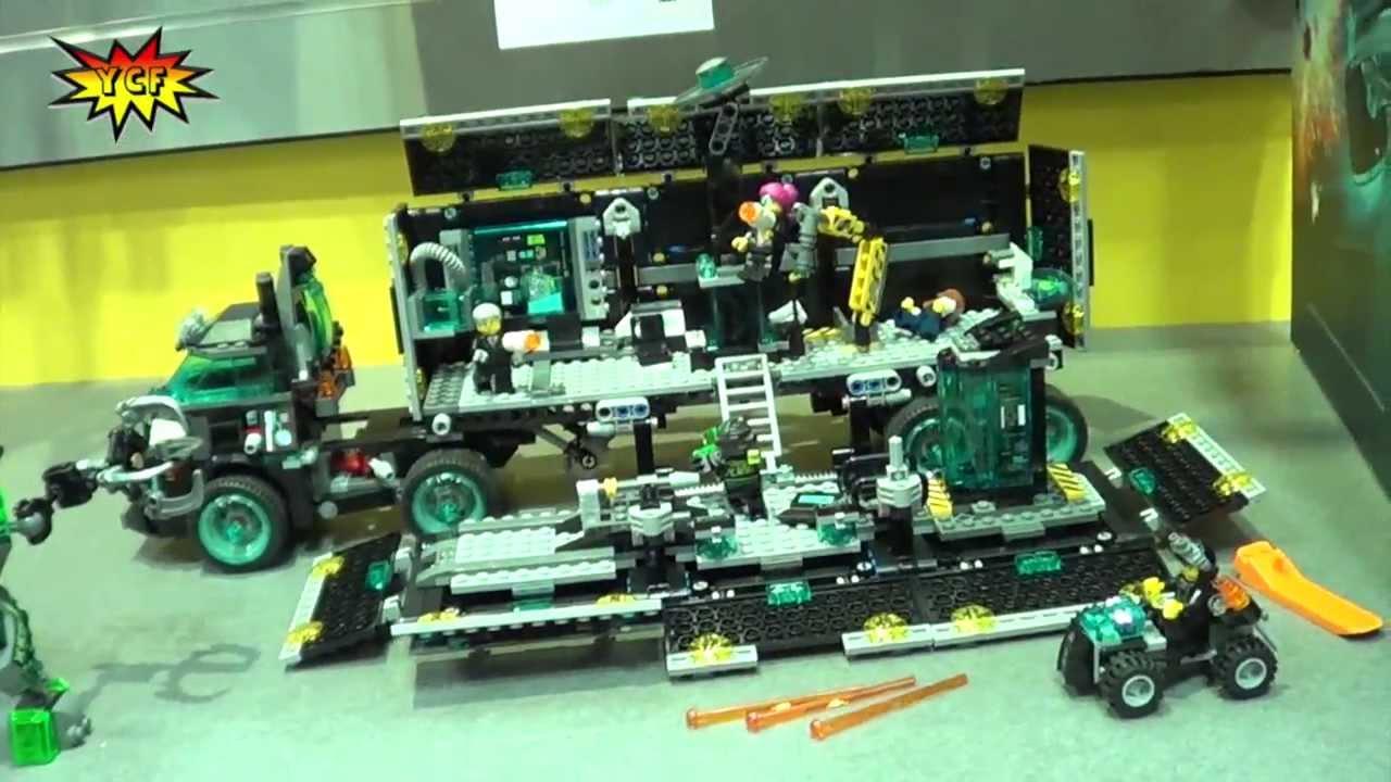 LEGO Ultra Agents Mission HQ 70165 - 2014 NY Toy Fair ... | 1280 x 720 jpeg 101kB