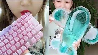 Японцы едят лёд/ASMR