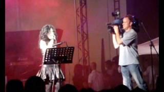 Giusy Ferreri - La Scala (The Ladder) Live In Athens,Greece @ Technopolis, Gazi 06/28/09