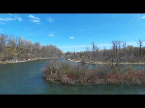 The Old Scow on Niagara River & Dufferin Islands