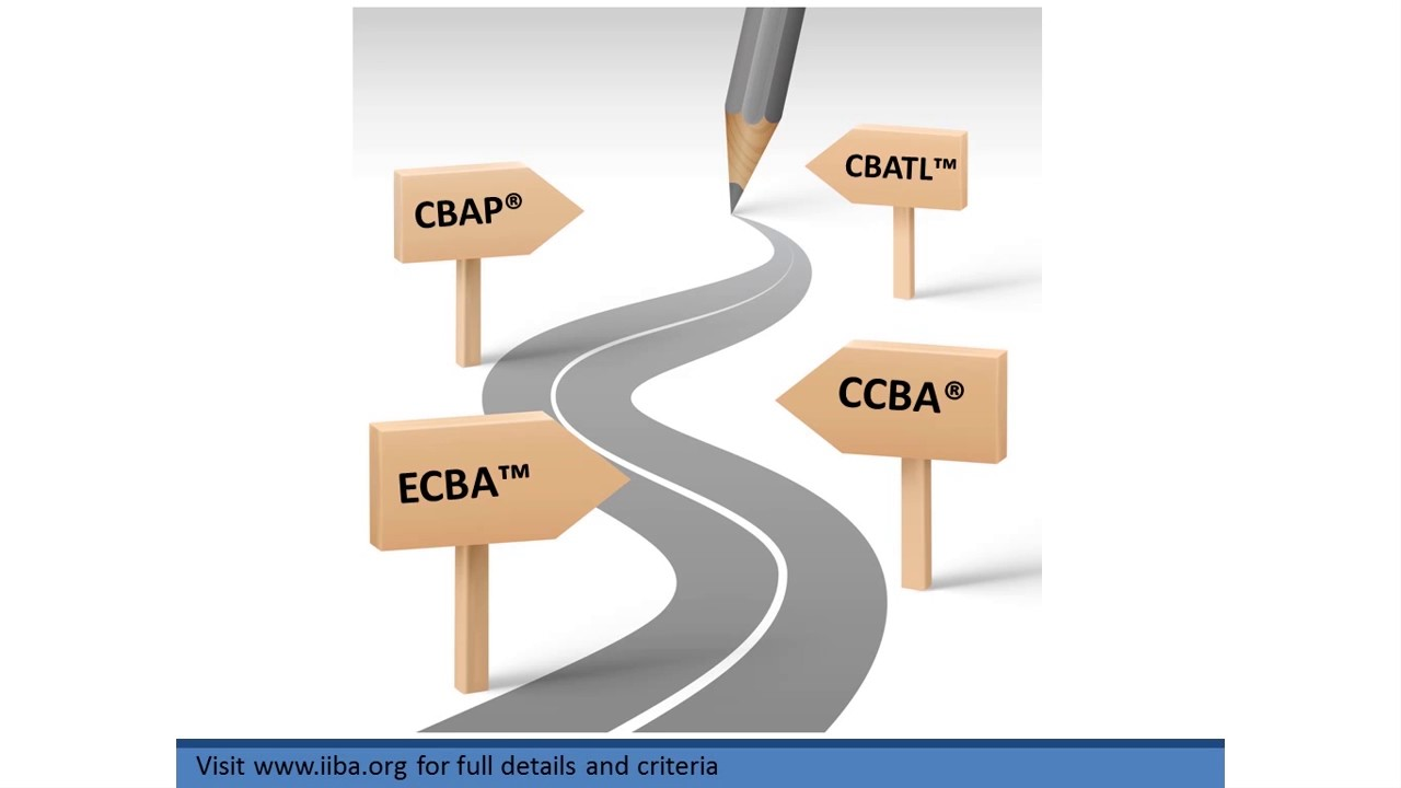 Iiba Multi Level Certification Framework An Overview Ecba Cbap