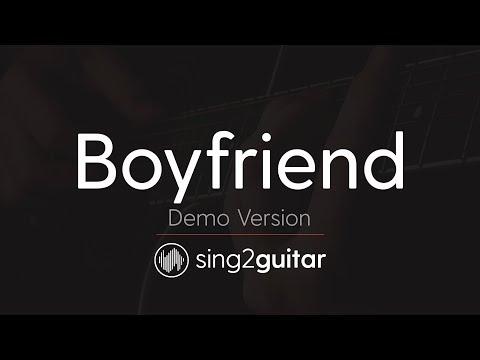 Boyfriend (Acoustic Karaoke Backing Track) Justin Bieber