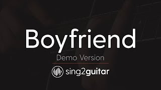Boyfriend Acoustic Karaoke Backing Track Justin Bieber