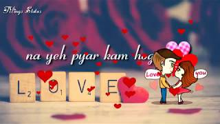 Dheere dheere pyar ko badhana hai💖love song WhatsApp status video