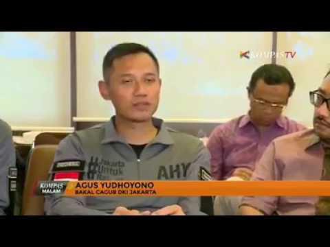 AGUS gak nyambung. Jokowi ngakak...
