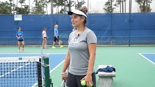 Mic'd Up: Pauli Lopez, UWF Women's Tennis
