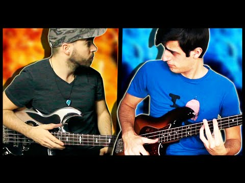 Download Youtube: GREAT BASS BATTLE with Miki Santamaria