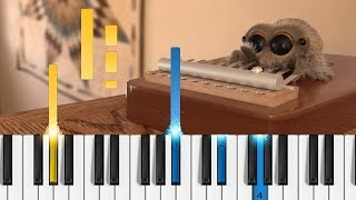 Lucas the Spider - Musical Spider - EASY Piano Tutorial