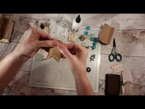 Junk Journal banners - paperclip banners tutorial. Journal embellishments. Journal diy.