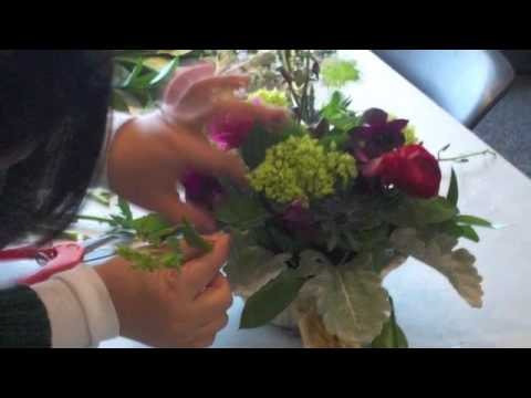 Ann Arbor District Library Floral Design Class