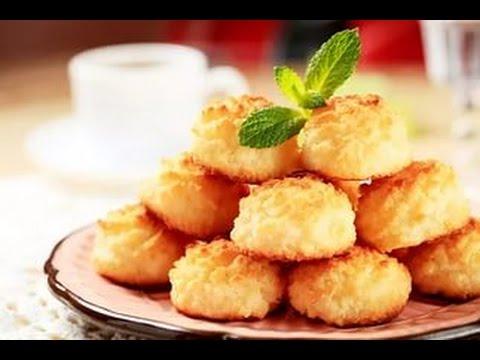 Нежное КОКОСОВОЕ печенье - ПРОСТО и БЫСТРО!!!