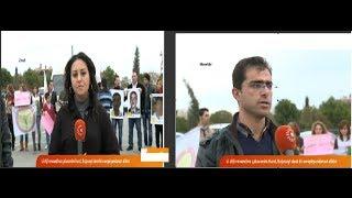 اعتصام منظمة سوز في هولير _ قناة روداو بث مباشر