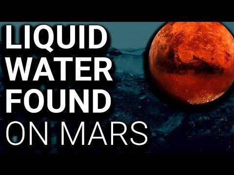 BREAKING: Liquid Water Found on Mars
