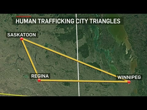 Saskatoon Identified As A Hub In Canada's Human Trafficking Networks