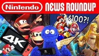 Age of Calamity, 4K Switch Rumors, 3D Scalp Stars | NINTENDO NEWS ROUNDUP