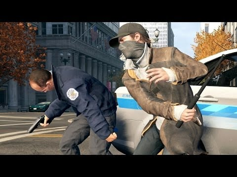Watch Dogs 5 Stars SWAT Police Shootout