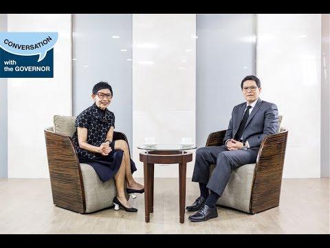"""Conversation with the Governor : """"เศรษฐกิจพอเพียง"""" เพื่อการเติบโตอย่างยั่งยืนของเศรษฐกิจไทย"""