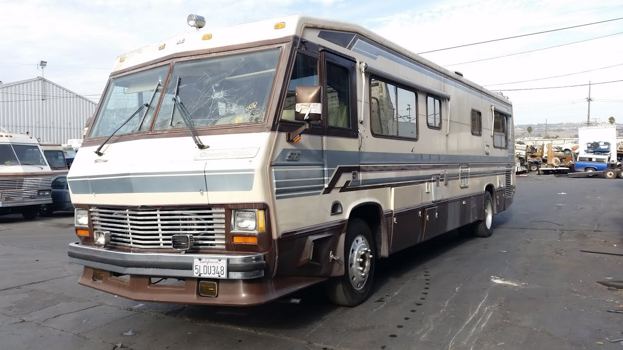 1988 coachman diesel motorhome pusher for sale class a detroit diesel allison transmission. Black Bedroom Furniture Sets. Home Design Ideas