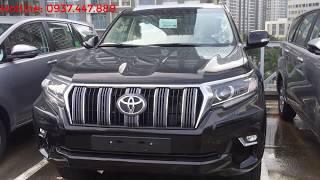 [Đã bán] Bán xe Toyota Land Cruiser Prado 2018 màu đen giao ngay T10.2018