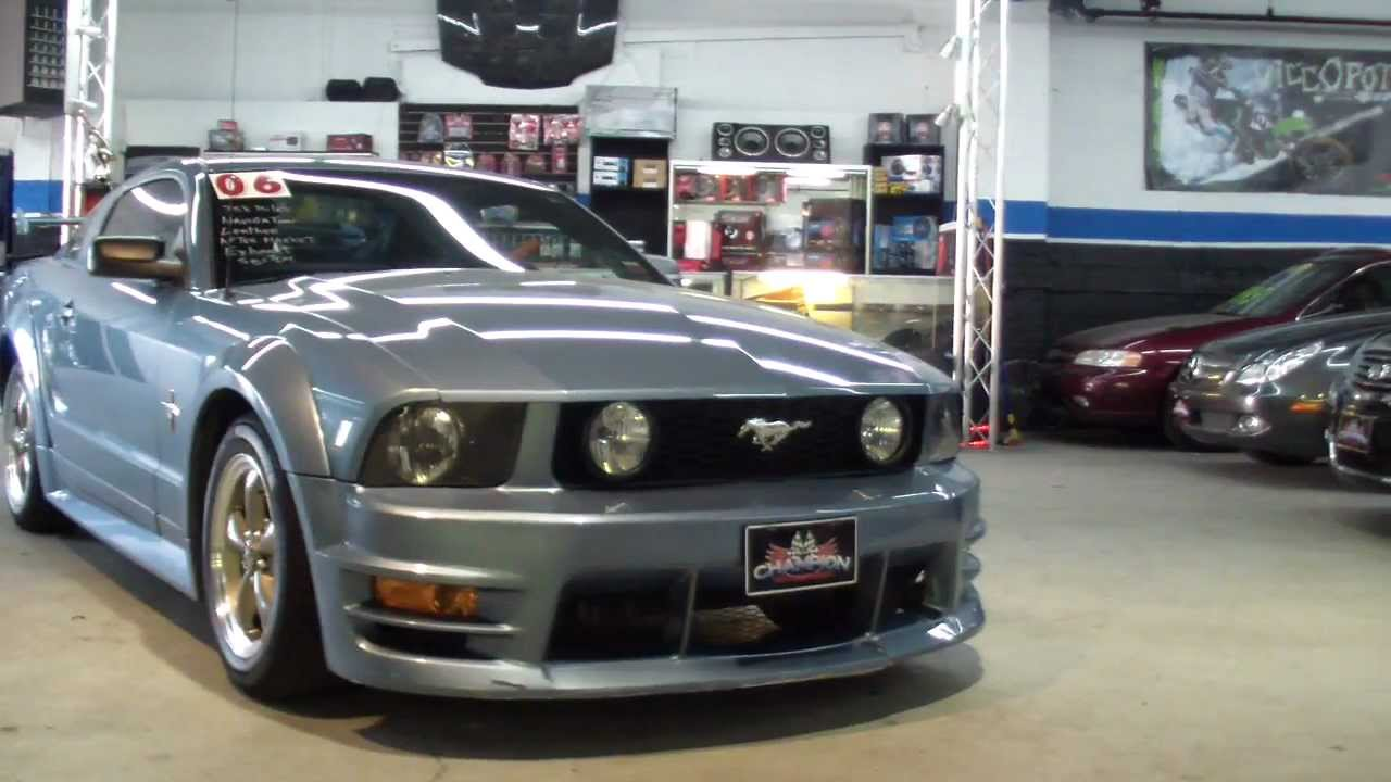 2006 mustang full body kit champion motorsports oceanside ny for sale 516 256 5600 youtube