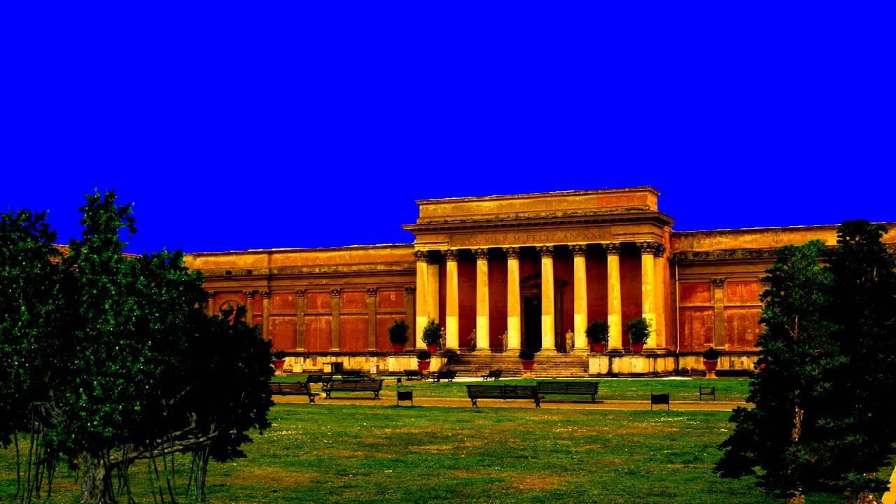 royalty free ancient building high res quality realistic blue