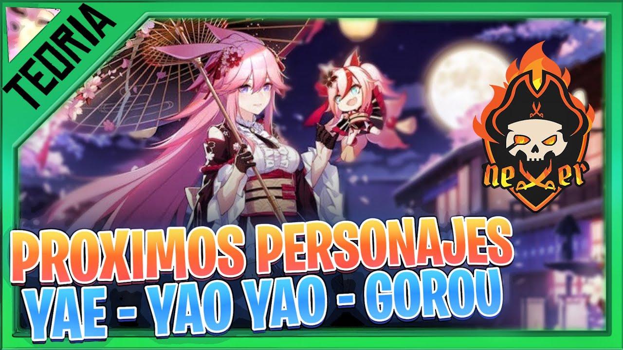 ¿CUANDO Sale GOROU, YAE o YAO YAO? TEORIAS GENSHIN IMPACT gameplay español | NEXER