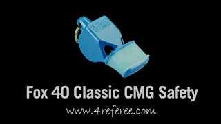 Fox 40 Classic Cmg Safety Pealess Whistle