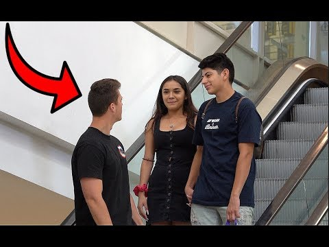 STARING AT STRANGERS ON THE ESCALATOR 3!!