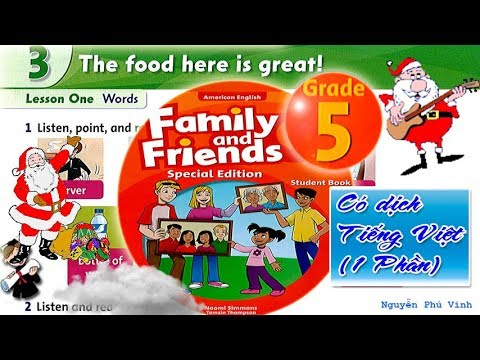 Trọn bộ Family and Friends 5 ❤🍰 Unit 3 – The food here is great! | Tiếng anh lớp 5
