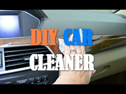 How To Make Chep DIY Car Interior Cleaner Wipes