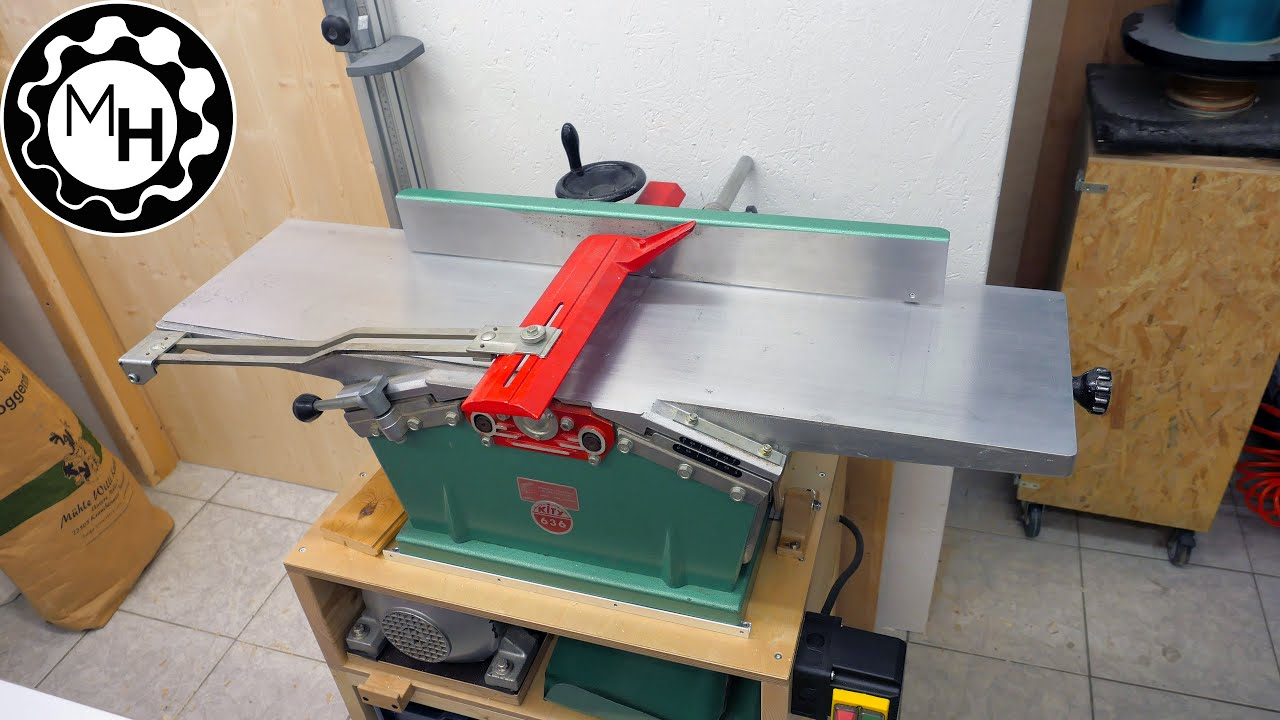 New Old Jointer Planer Kity 636 Youtube