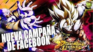 CAMPAÑA DE FACEBOOK Y NUEVO LOGIN BONUS /// DRAGON BALL LEGENDS EN ESPAÑOL