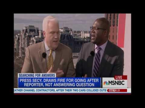 MSNBC: Dr Jason Johnson Confronts Matt Schlapp...