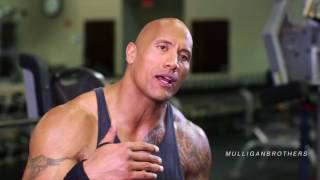 THE ROCK [DWAYNE JOHNSON] - A DAY IN THE LIFE [GYM]