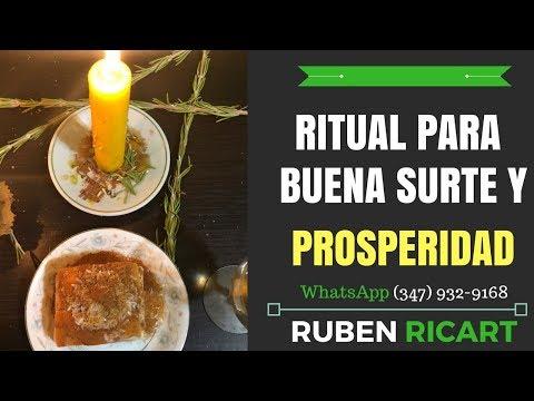 Ritual Para Atraer Buena Suerte Dinero y Prosperidad a tu vida -Ruben Ricart