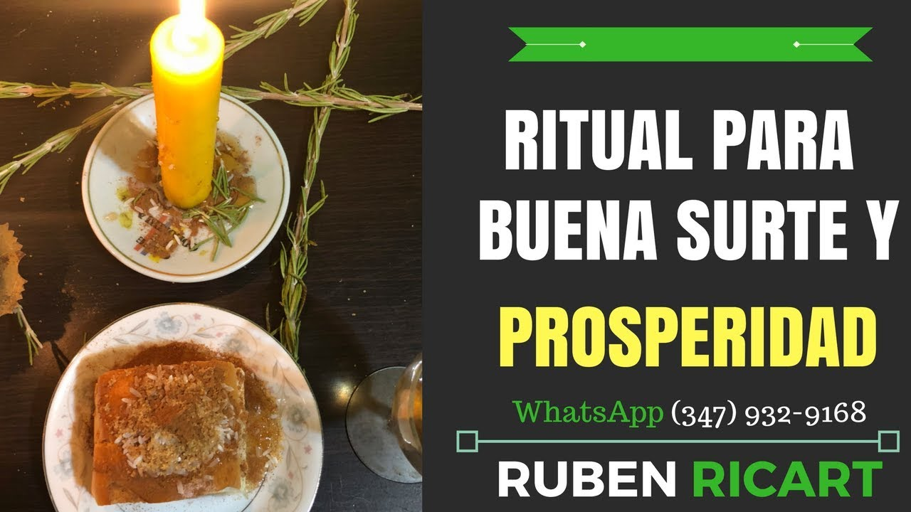 Ritual para atraer buena suerte dinero y prosperidad a tu - Hechizo para tener suerte ...