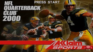 NFL Quarterback Club 2000 (Nintendo 64): Intro & auto demo