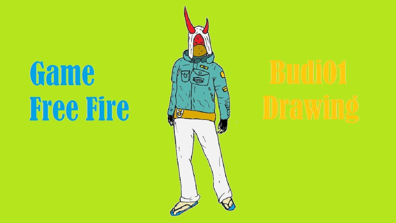 How To Draw Budi01 Step By Step Garena Free Fire